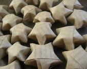 100 paper origami stars - free delivery