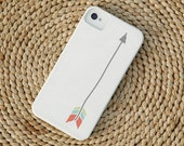 Multicolored Arrow Barely-There Snap-On Hard Plastic iPhone 4 Case on White (In Stock & Ready to Ship)