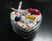 Heart Shaped Decoden Jewelry/Favor Box