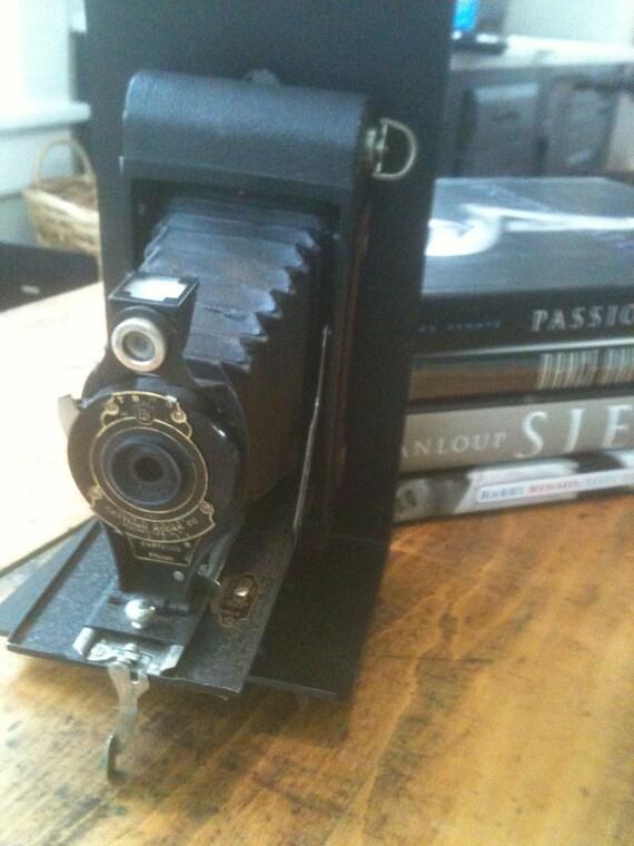 Antique Kodak No.2 Folding Camera Bookend