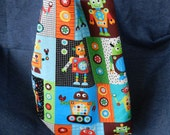 Reversible Robot Library Children's Tote