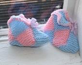 Hand made Finnish style booties/ socks