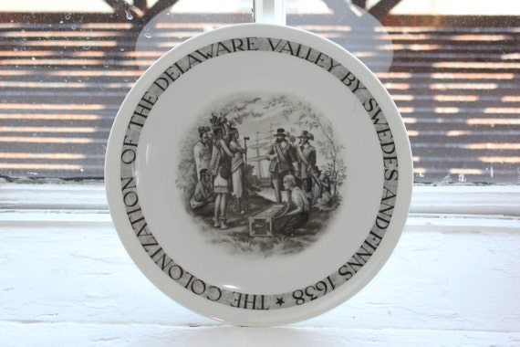 Arabia Finland collectors plate from 1932-1949