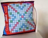 Scrabble, Board Games, Scrabble cushion, Play Scrabble On your cushion, ROOBYSFABRICS