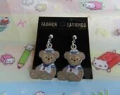 Duffy Bear Disney Earrings