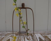 Reserved for Lauren...Vintage Rusty Farm Tool Pitch Fork Autumn Fall Decoration