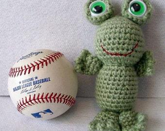 Stuffed Toy Frog Amigurumi