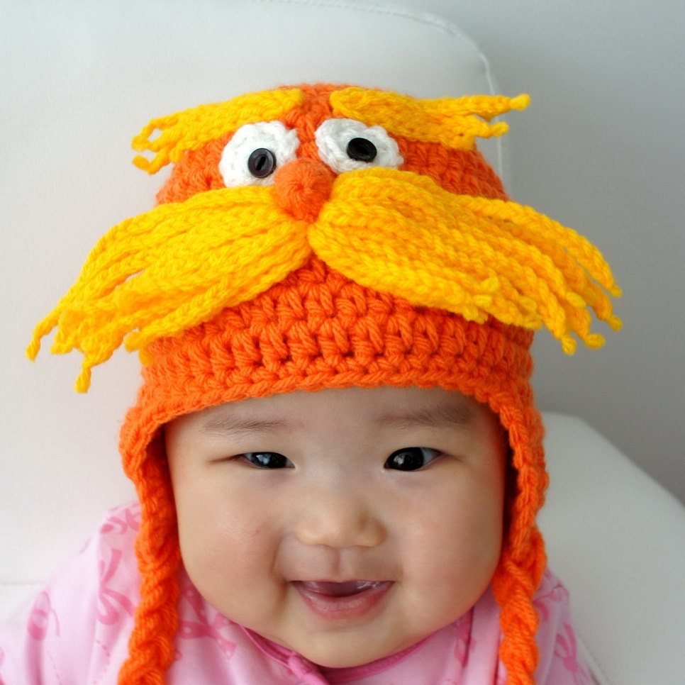Lorax Hat The Lorax Inspired From Dr