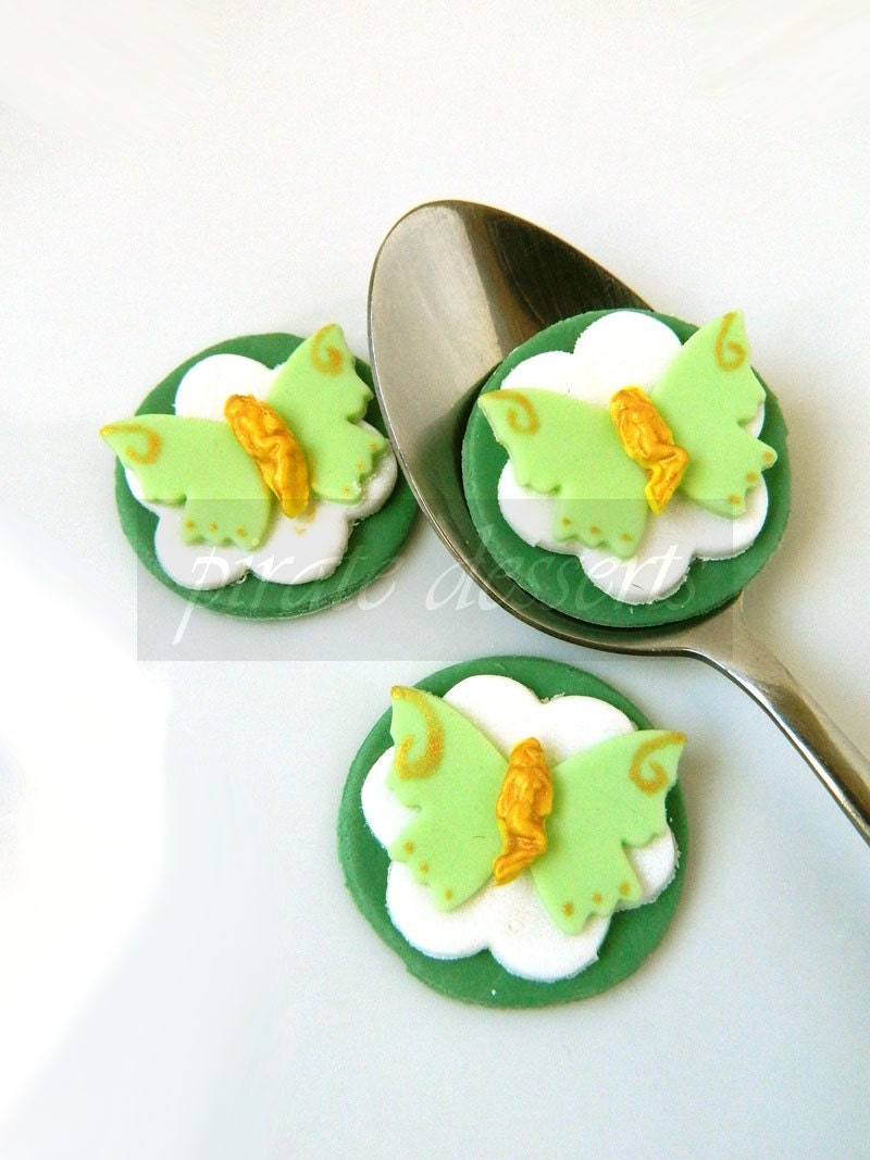Peter Pan And Tinkerbell Cake Toppers