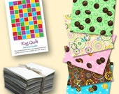Girl Scout Cookie II Pre-cut Flannel Fabric Rag Quilt Kit 100% Cotton