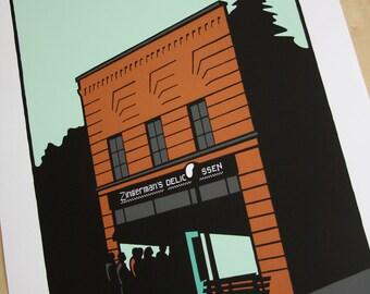 Zingerman's Ann Arbor poster