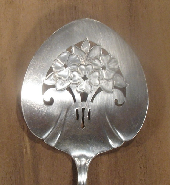 Wm A Rogers Silver Plate Marks: Wm Rogers Silver Serving Spoon With Eagle And Star Mark