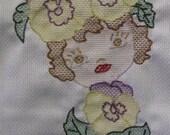 Huck Weave block pattern number 6.