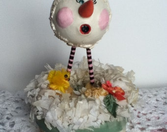 Vintage Style Easter Bunny Candy Box