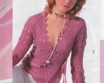 MADE TO ORDER spring / summer women crochet jacket cardigan