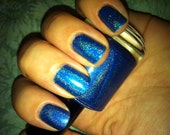 Marge's Blue Beehive by Enchanted Polish