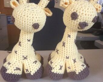 Crochet Giraffe Stuffed Animal