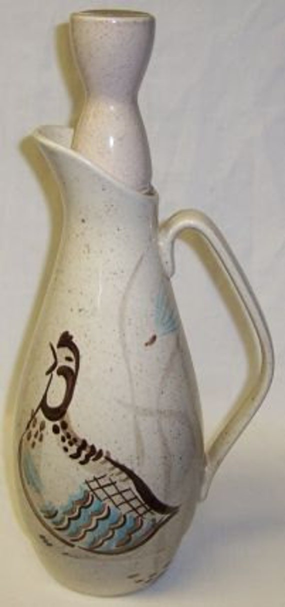 Red Wing BOB WHITE QUAIL 12 5/8 Inch Beverage Server with Top