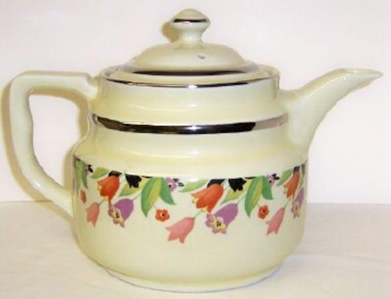 Hall China CROCUS MELTDOWN Coffee Pot with Lid
