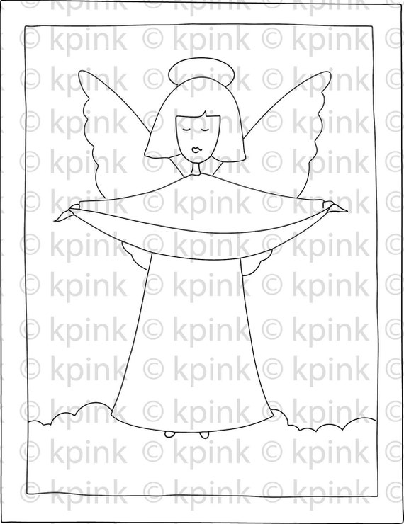 Faith Angel - I Dig Digi Stamp