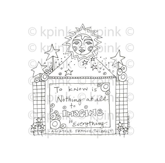 To Know Is Nothing - I Dig Digi Stamp
