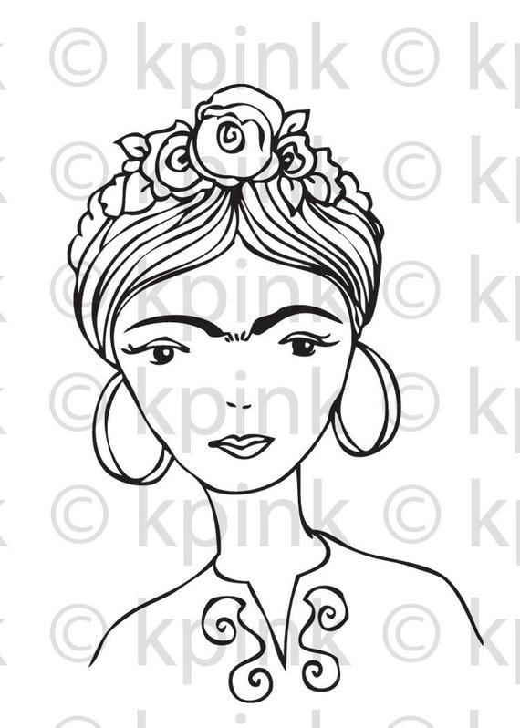 Frida - I Dig Digi Stamp