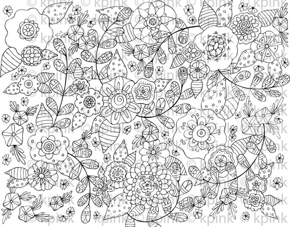 Garden in My Head - I Dig Digi Stamp
