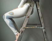 Organic Cotton Sycamore Tree Leggings. MADE to ORDER OOAK.