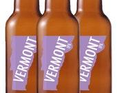 One Dozen Vermont Beer Bottle Labels -- Choose Your Brew