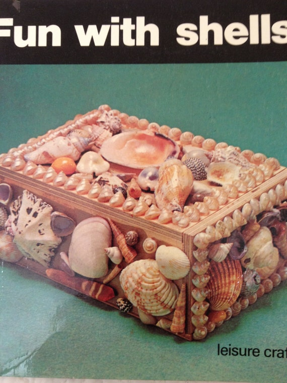 Unusual  1970s Shell Craft book