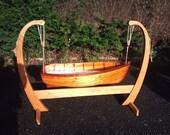 Hand made Baby Boat Crib