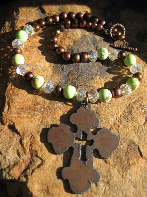 Sorbet - Bronze Pearl Necklace