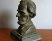 Vintage Lincoln Bust