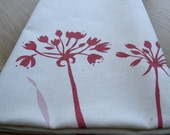 Pretty Allium Tea Towel