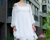 Chiffon dress (023)