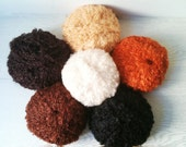 Kid boucle mohair yarn - perfect for doll hair and knitting
