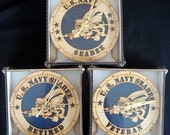 SeaBee Laser Cut Decorative Wall or Desk Clock