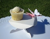 12 Corrugated Card Cupcake Tables Wedding/ Party Favour, Table Decoration