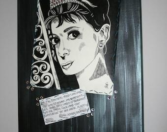 Beautiful Eyes, Lips and Poise.. Audrey Hepburn