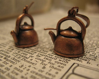 Adorable Tea Pot Earrings