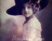 Beautiful little girl .Image  Digital Download.
