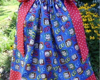 Featuring Curious George - Pillowcase Dress - Sizes 3 months thru 6/7 :CH008