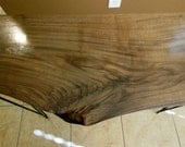 Wooden Table. Rustic Table. Handmade Wooden Table. Black Walnut