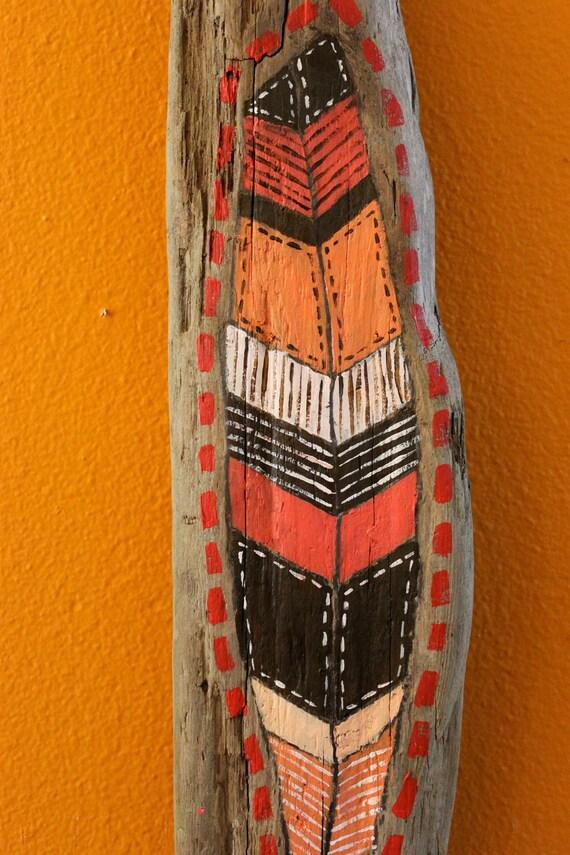 Red-Orange Feather