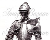 Spanish Armor downloadable vintage image BW015