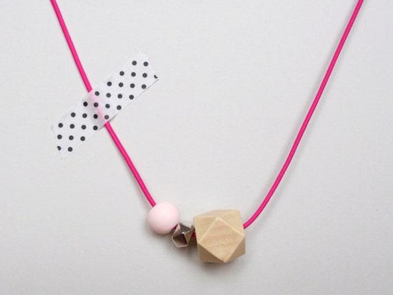SALE / / / WOODY DIAMOND: neon pink