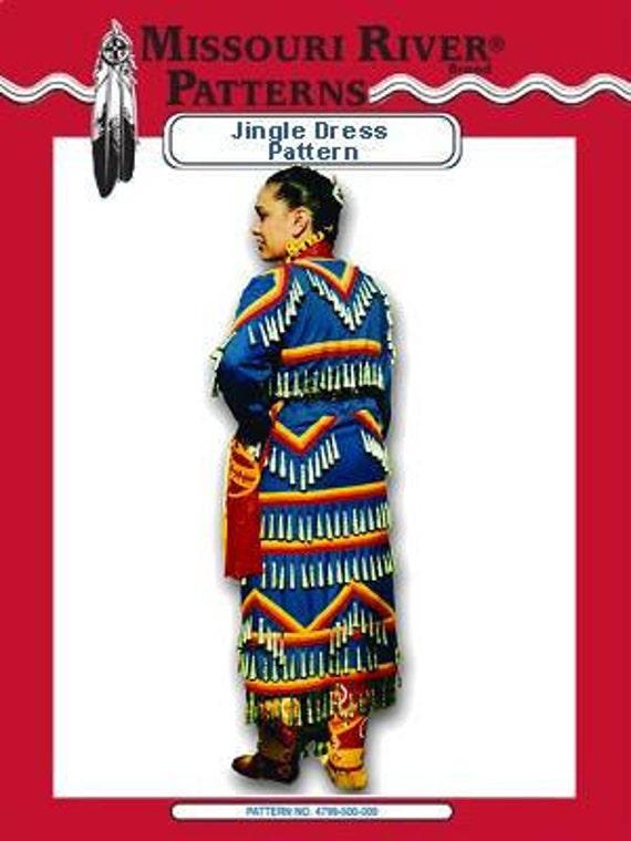 Jingle  Dress Sewing Pattern Pow wow crafts mountain man