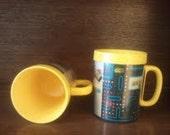 1980 Holographic Pac-Man Drinking Mug