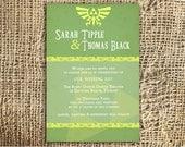 ANY COLOR - Zelda Invitation Printable DIY