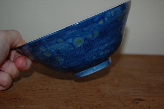 Diamond Jubilee 2012 Blue Bowl, Royal blue Bowl, Blue Berry Bowl, Decorative Jubilee Bowl, Jubilee Memorabilia